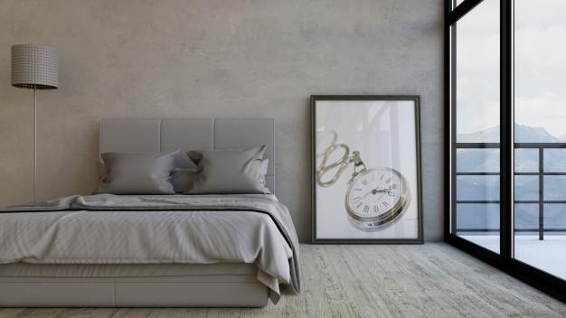 Sengen betyder meget for soveværelset